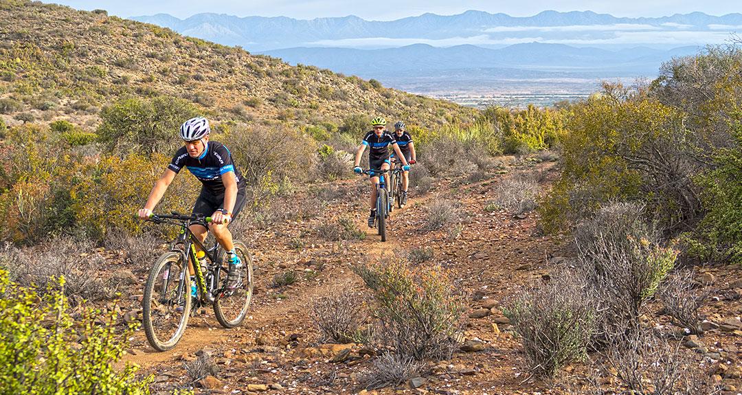 Mountain Biking at Appelsfontein Game Lodge Oudtshoorn